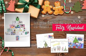 Los más pequeños de Conasa felicitan la Navidad