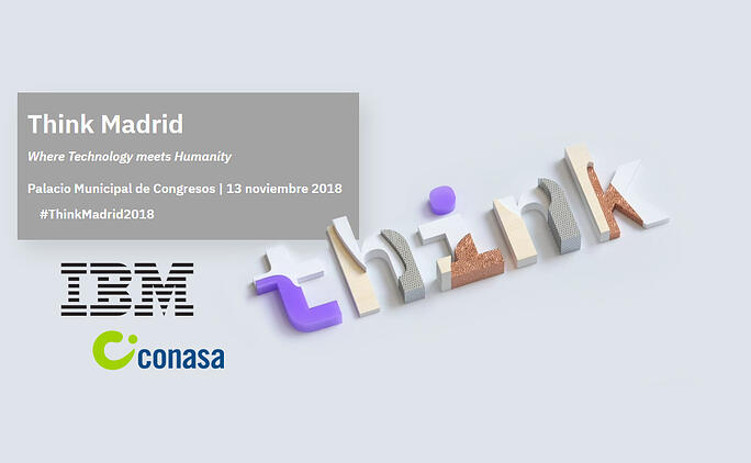 Participación destacada de Conasa en IBM Think Madrid 2018