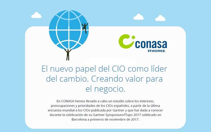 Estudio sobre los intereses de los CIOs en España [INFOGRAFÍA]